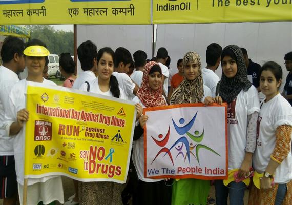 International Day Against Drug Abuse- We The People India